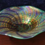 Hand-Blown Glass Bowl